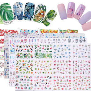 12pcs-in-1-Animal-Nail-Art-Water-Decal-Transfer-Stickers-Nail-Tips-Decoration
