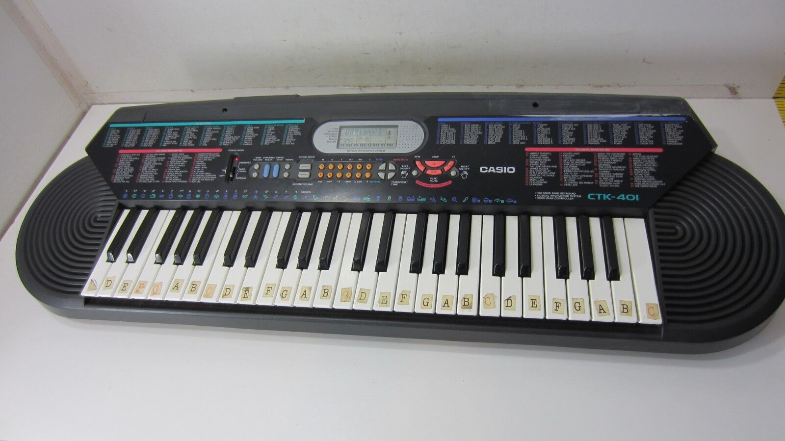 Casio CTK-401 - 49 Key Keyboard - Synthestorlekr