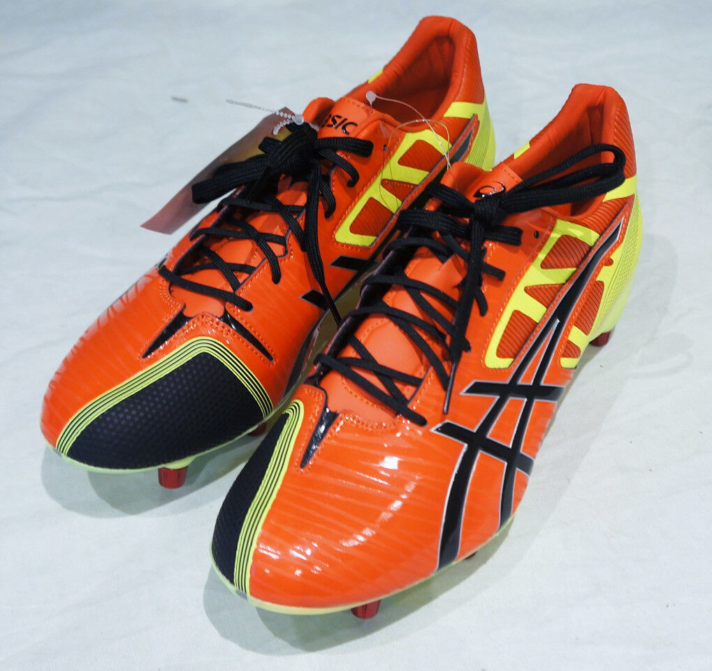 ASICS GEL LETHAL SPEED US herren Größe 9 CLEATS W  REMOVABLE STUDS BRAND NEW