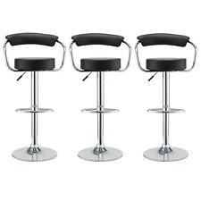 Modway Furniture Diner Bar Stool Set of 3 Category Indoor Color Black Bar Stool