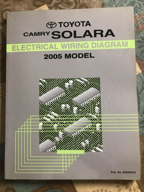Toyota Camry Solara Electrical Wiring Diagram Manual 2005