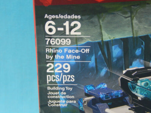 Lego Marvel Super Heroes 76099 Rhino Face-Off by the Mine 223pcs Black Panther