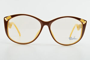 SAPHIRA-Brille-Mod-4168-10-57-14-135-Vintage-Optyl-Eyeglasses-Frame-Germany