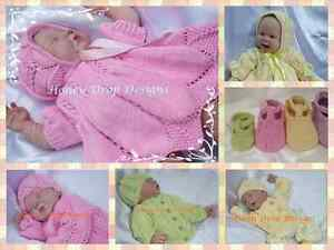 ec49fdc8f Honeydropdesigns   Springtime Combo  2 PAPER KNITTING PATTERNS  Baby ...