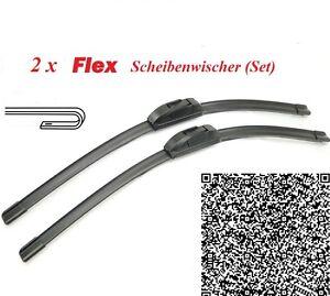 2-x-FLEX-Scheibenwischer-fur-Ford-Ka-Streetka-Sportka-1996-2008-Super-EASYCLIP