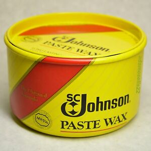 Image Is Loading 16oz PASTE WAX BUTCHERS BOWLING ALLEY SC JOHNSON