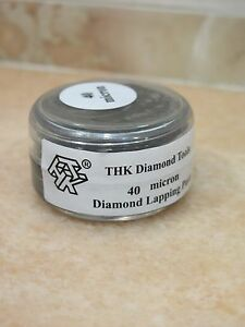 1 bottle THK 40 micron Diamond polishing lapping paste pastes compound 20 Grams