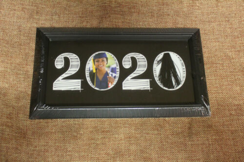 Class of 2020 Graduation Photo Picture Frame /& Tassel Easel or Wall Mount 10x5.5