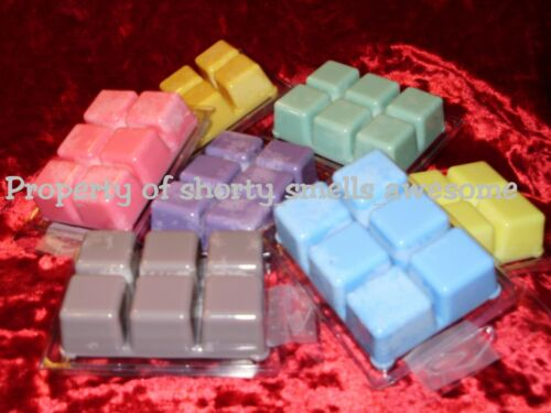 100/% Soy Wax Tarts Bar Break Away Melts Clamshell Fragrance Aroma Scented A E