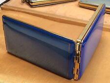 PUDERDOSE & ZIGARETTENETUI LADIES CIGARETTE CASE & POWDER BOX