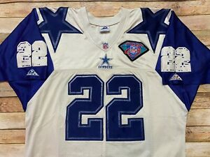 Details about RARE Authentic Apex DALLAS COWBOYS Jersey EMMITT SMITH Vtg 90s Sewn NFL Large