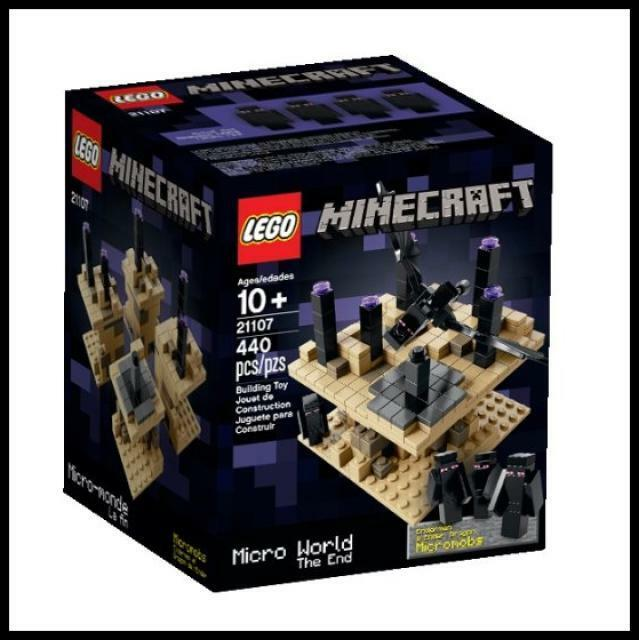 LEGO Cuusoo LEGO Minecraft Micro World - The End 21107  - Age 10+  magasin pas cher
