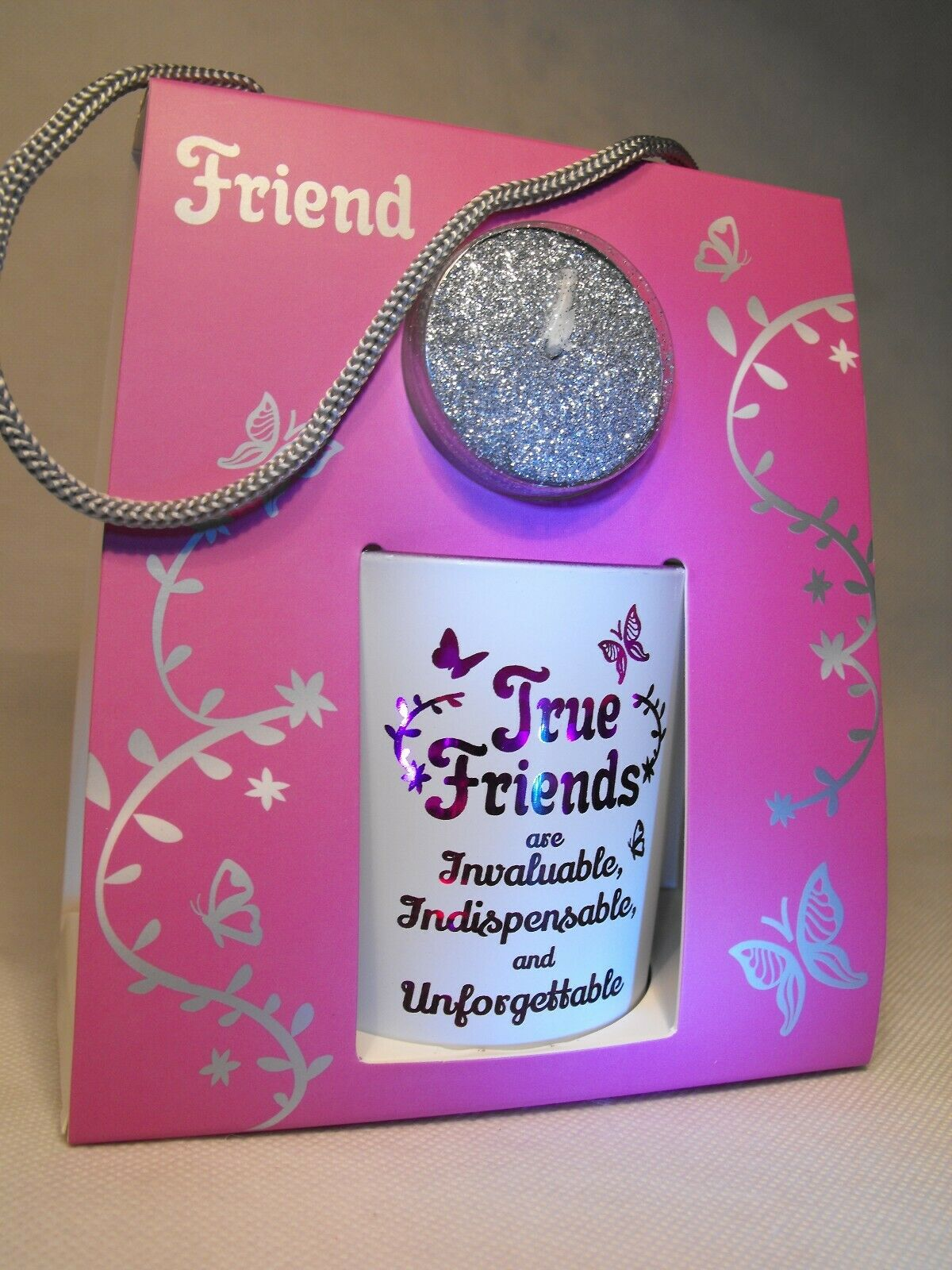 Un Regalo Para Mi Amigo Regalo Amigo Especial Amigos de la Vela Luz De Té De Cumpleaños Reino Unido