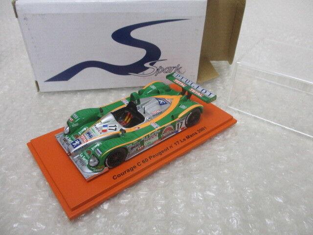 Spark Spark Spark 1 43 Courage C60  17 Le Mans 2001 SCCG09 d82c09