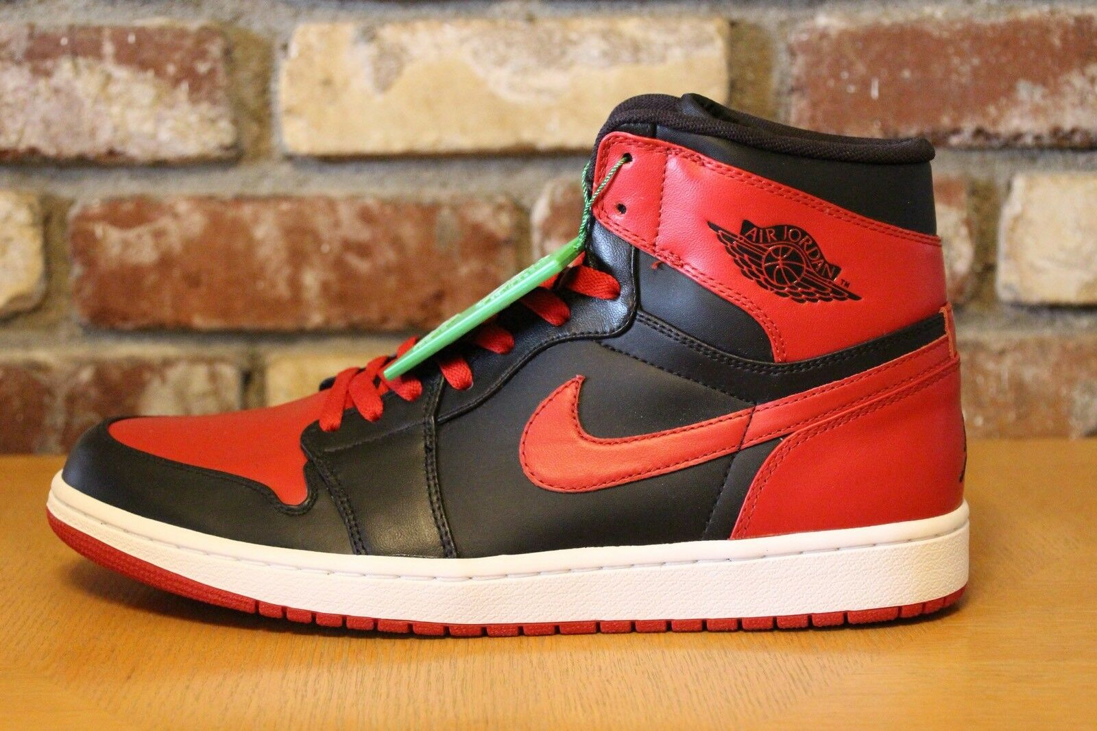 Nike Nike Nike Air Jordan 1 DMP Retro High Bred Red Black 2009 DS Men's Size 11.5 and 12 417e60