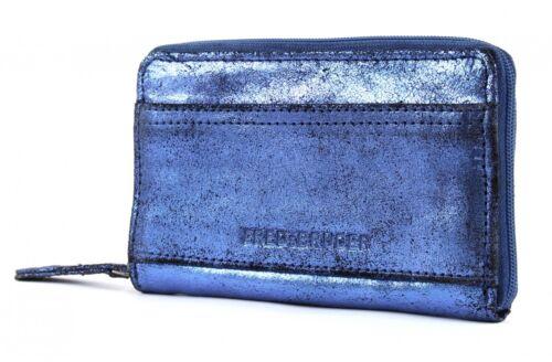 FREDsBRUDER Spotlight Fame Wallet Portafoglio BLUE BLU NUOVO
