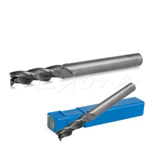 Extra Long 6*6*24*68mm 3 Flute HSS /& Aluminium End Mill Cutter CNC Bit Extended