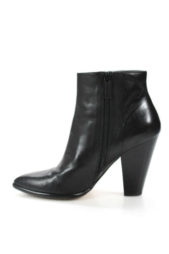 Cole Haan Womens Leather Pointed Chunky high Heel