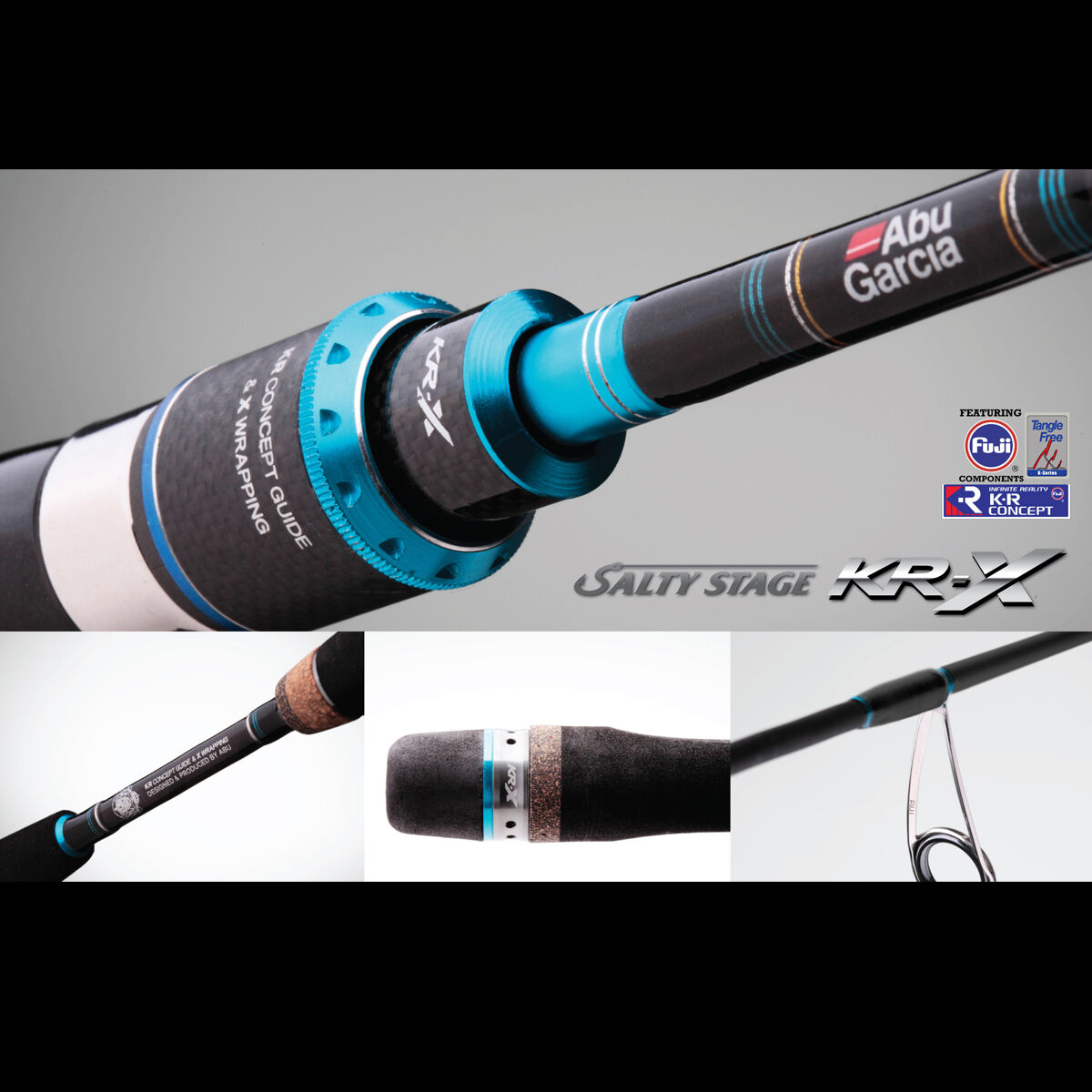 Abu Garcia Salty Stage KR-X Light Bait Casting 6