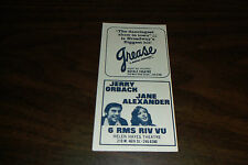 "1973 ""6 RMS RIV VU"" JERRY ORBACH  JANE ALEXANDER HELEN HAYES THEATRE AD"
