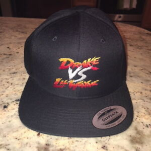 7e2733ba3 Drake Vs. Lil Wayne 2014 Summer Tour Snapback Hat Hip Hop Rap ...