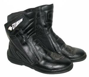 """"""" STYLMARTIN """" Motorradstiefel / Biker- Stiefel / Boots in schwarz ca. Gr. 37,5"""