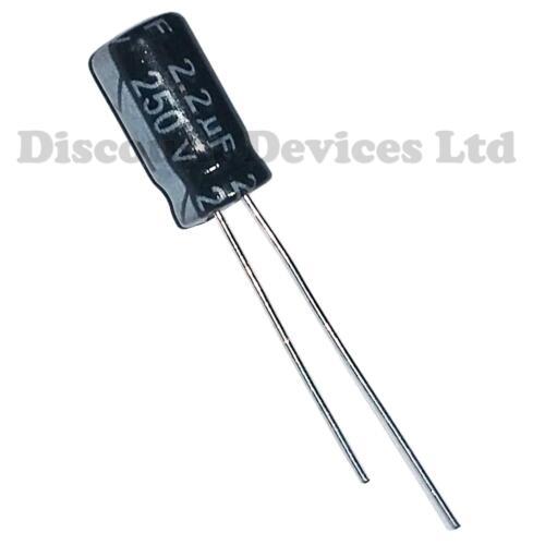 2.2uF 250V  Electrolytic Capacitor 105C