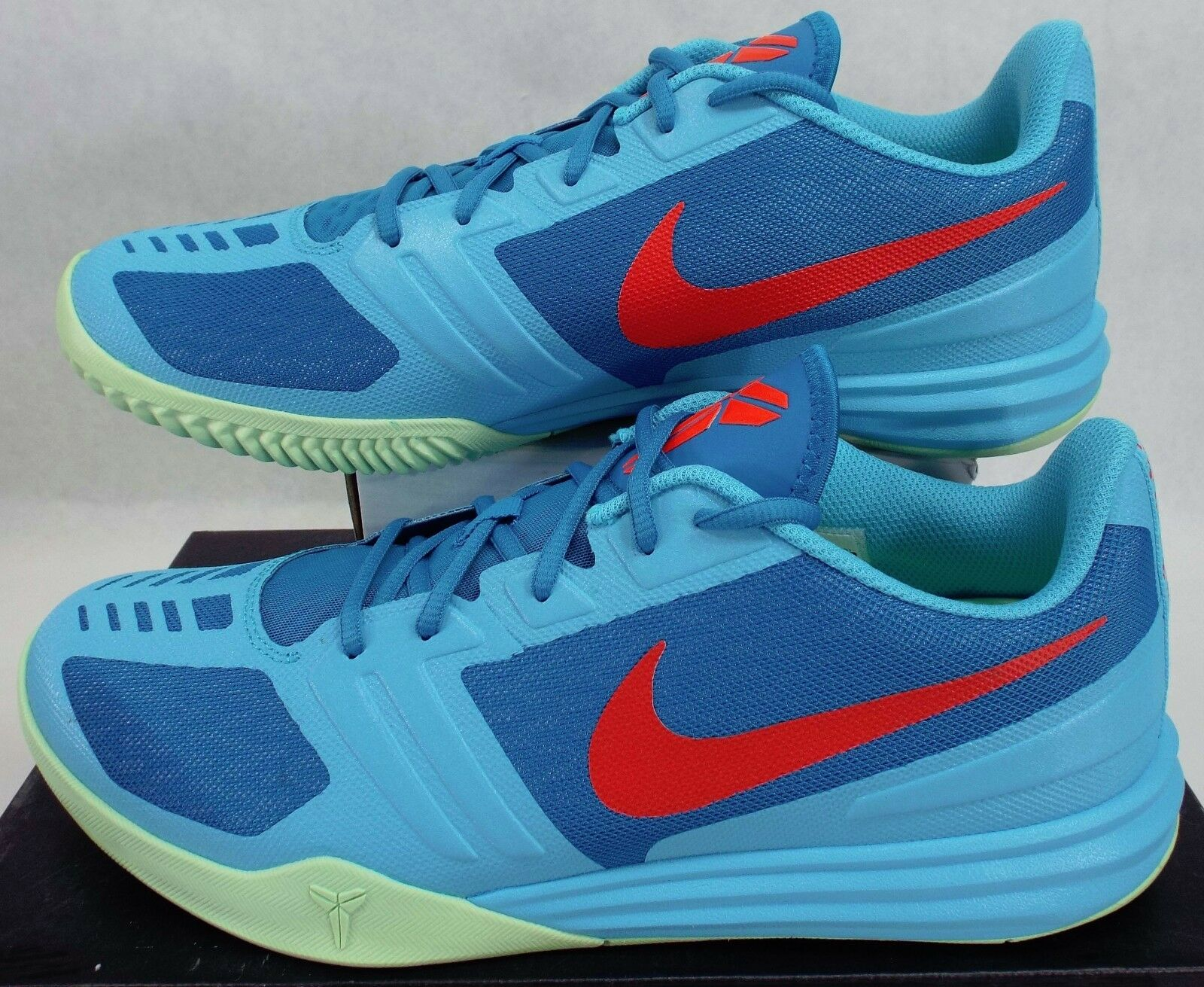 New Mens 12 NIKE KB Mentality Clearwater bluee shoes  100 704942-400