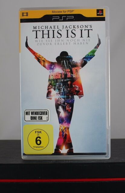 Michael Jacksons - This Is It (UMD PSP,2010) sehr gut