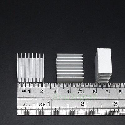 10pieces 20x20mm Aluminium Adhesive Back Heatsink For RAM Memory Chipset VGA IC