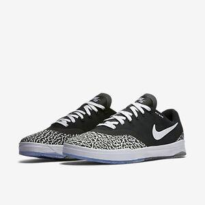 Men's Nike SB Paul Rodriguez 9 Elite T Skateboarding Black/White NIB 833902-001