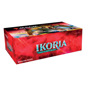 Ikoria: Lair of Behemoths Booster Box NEW FACTORY SEALED! MTG PRESALE SHIPS 5/15