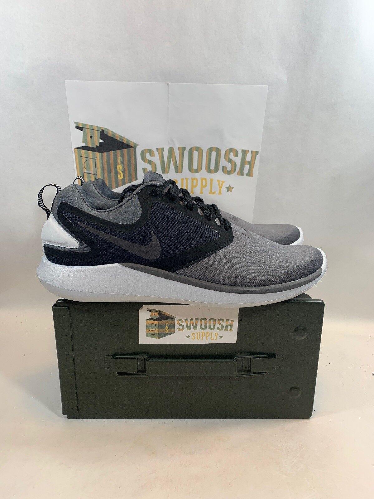 Nike Lunarsolo Grey Black Lunar Grey Black Men Running shoes Sneakers AA4079-012