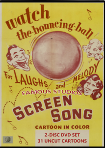 Famous-Studios-Screen-Songs-Classic-Cartoon-Collection-2disc-DVD-set-Harveytoons