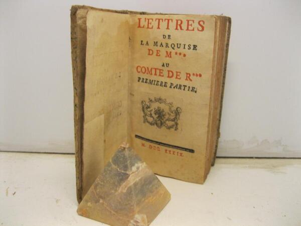 (crebillon Claude Prosper Jolyot De), Lettres De La Marquise De M*** Au Comte