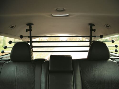 Headrest Dog Guard To Fit Land Rover Discovery Mk2 /& Mk3 5 Door 98-09