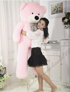 63in-034-pink-034-Teddy-Bear-Giant-Huge-Big-Stuffed-Animals-Plush-Soft-toys-doll-gift