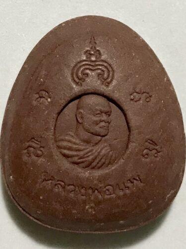 PHRA PIDTA LP PAE RARE OLD THAI BUDDHA AMULET PENDANT MAGIC ANCIENT IDOL#355