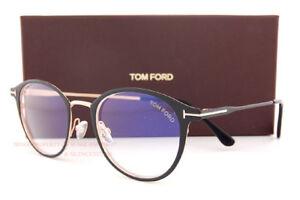 236fd38ab50 New Tom Ford Eyeglass Frames FT 5528-B V 002 Matte Black For Men ...