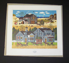 "Charles Wysocki Limited Edition Hand Signed Print ""Devilstone Harbor"""