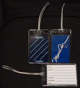 Luggage-tag-Muse-Air-Transtar-w-playing-card-choose-from-multiple-designs