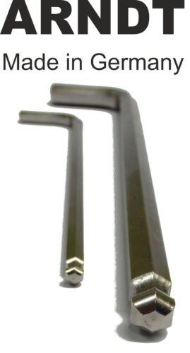 Ball End LONG 10mm 25/64'' Allen Alen Alan Hexagonal Hex Key Keys ARNDT 302