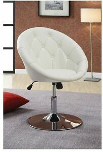 vanity stool swivel round chair seat padded bedroom