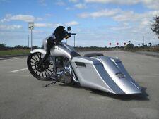 Gangsta Saddlebags & Overlay Rear fender Harley Davidson Touring 97-08 Stretched