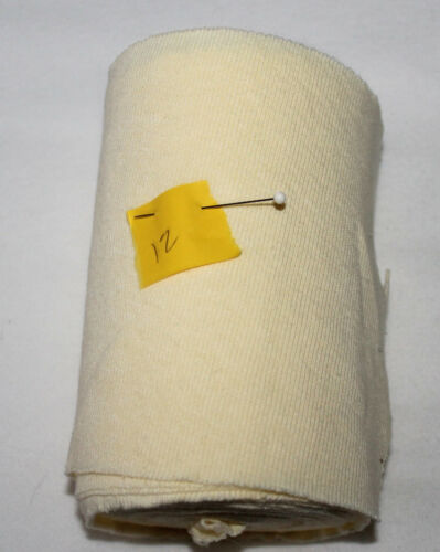 Vtg Lt Weight Collar Cuff Knit Trim Pick from 20 Colors Sewing Fabric Doll Baby
