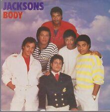 "7"" The Jacksons Body Vocal & Instrumental (Michael Jackson) 80`s CBS Epic"