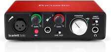 Focusrite Scarlett Solo 2nd Generation - Interfaccia Audio USB - Scheda Audio