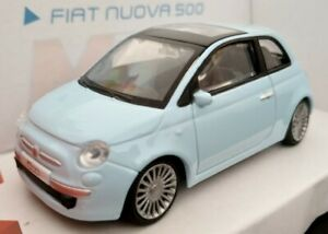 1-43-FIAT-NUOVA-500-NUEVO-LICENCIA-OFICIAL-FIAT-COCHE-DE-METAL-A-ESCALA-DIECAST