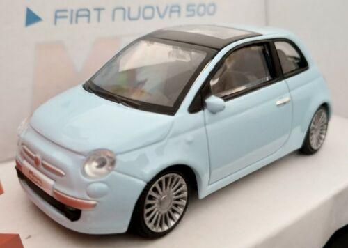 1//43 FIAT NUOVA 500 NUEVO LICENCIA OFICIAL FIAT COCHE DE METAL A ESCALA DIECAST