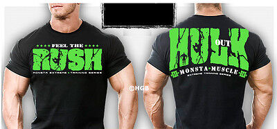 New Mens Monsta Clothing Fitness Gym Sweatpants Hulk Out